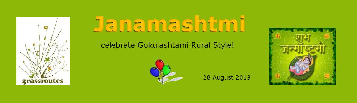 Book Online Tickets for Janamashtmi - celebrate Gokulashtami Rur, Mumbai.  