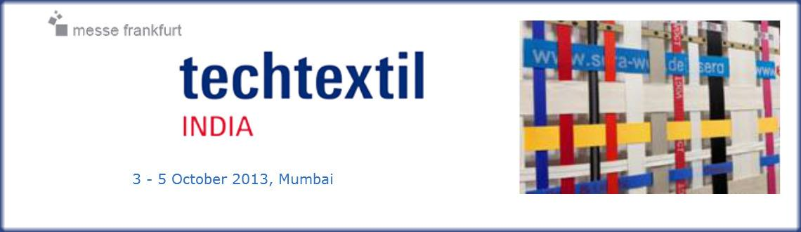 Book Online Tickets for Techtextil India, Mumbai. 