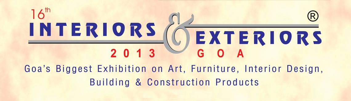 Book Online Tickets for Interiors and Exteriors Expo, Panaji. With the growing awareness of the average Goan populace towards new developments and enhancements in technology, products, construction designs and ideas, the options available for home and office applications in Goa are varied and many.