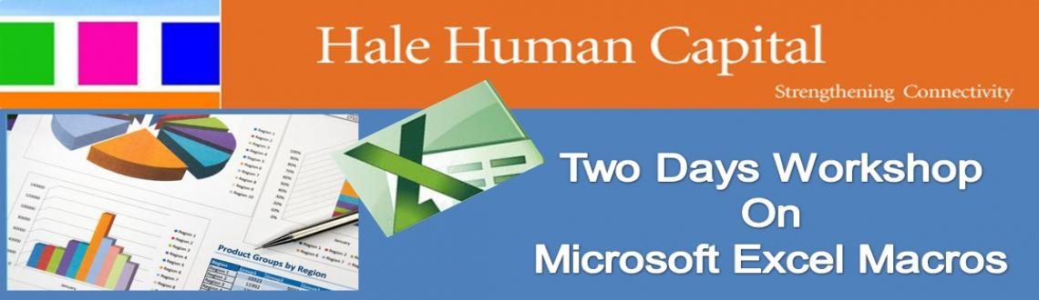 Two Days Workshop On Microsoft Excel Macros  @ Chennai