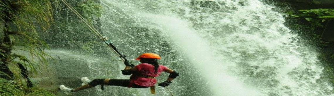Waterfall Rappelling & Flying Fox Batch 10 - 1 September, 2013