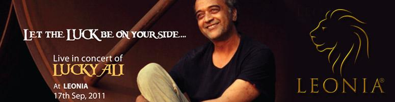 Lucky Ali Live in concert- 17th September - Leonia Holistic Destination, Hyderabad