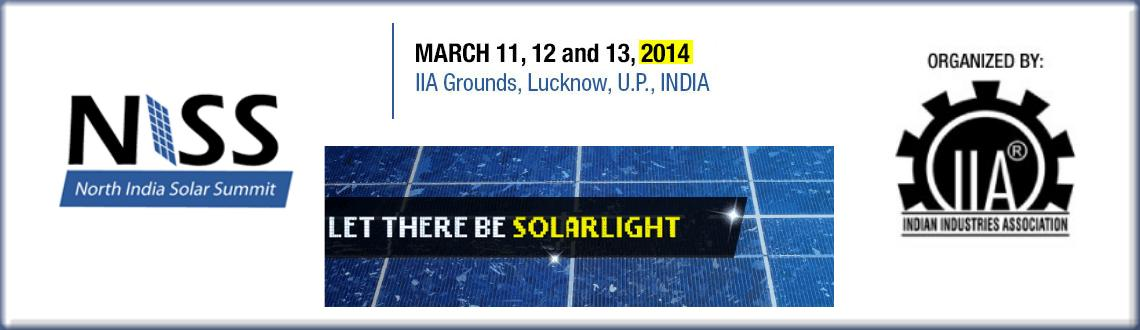 North India Solar Summit, 2014