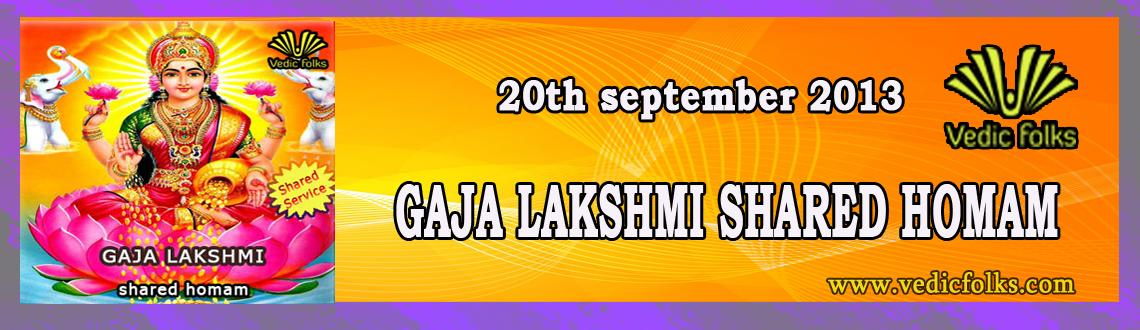 Gaja Lakshmi Homam - Shared Services