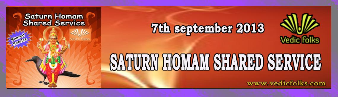 Saturn+Rahu+Ketu Homam - Shared Services