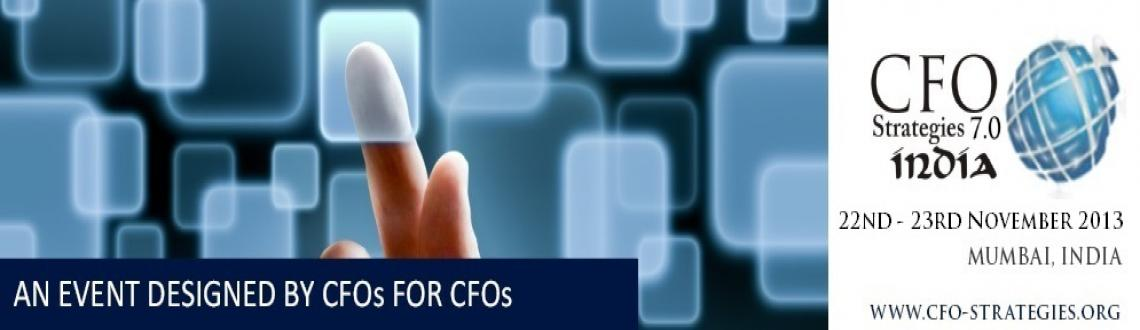 Book Online Tickets for CFO STRATEGIES 7.0 India Forum, Mumbai.  
