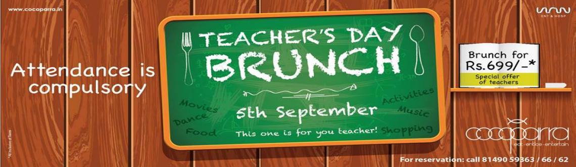 Cocoparra celebrates Teachers Day This one for you TEACHERS