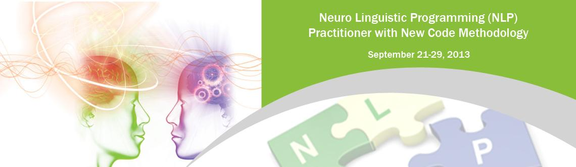 Neuro Linguistic Programming (NLP) Practitioner with New Code Methodology