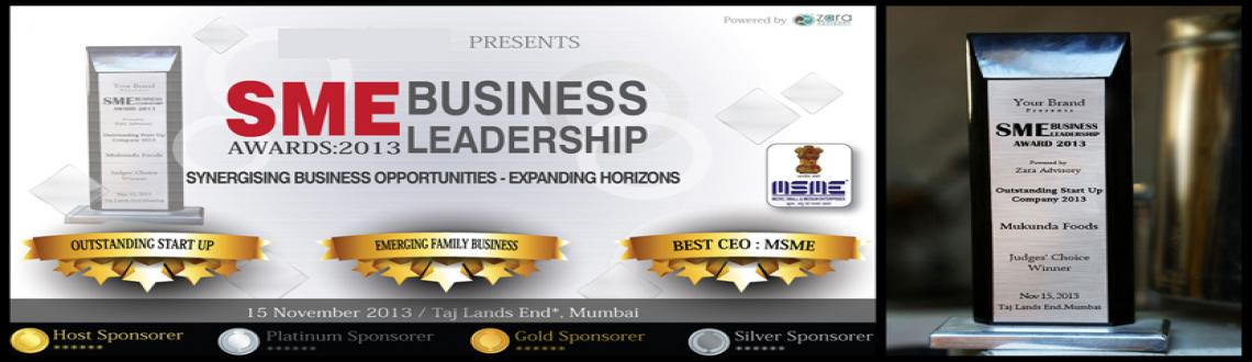 "Book Online Tickets for SME Business Leadership Awards 2013, Mumbai. Zara Advisory – Division of Zara Consultancy Services Private Limited is the organizer of ""SME Business Leadership Awards 2013"" to be held at Taj Lands End*, Mumbai.