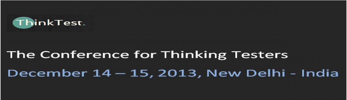 Book Online Tickets for ThinkTest 2013, NewDelhi. ThinkTest2013Conference is first of its kind in the region.James Bach– the living legend on testing is the lead key speaker on the event and will be addressing the superb testers attending the conference. •Th