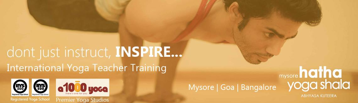 International Yoga Teachers Training course