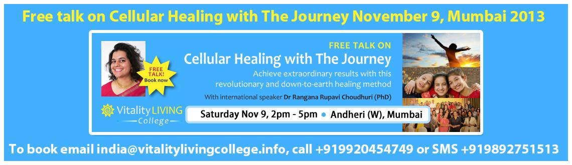 Awakening to the Journey of healing Mumbai - Discover your own healing potential, truth and freedom with The Journey
