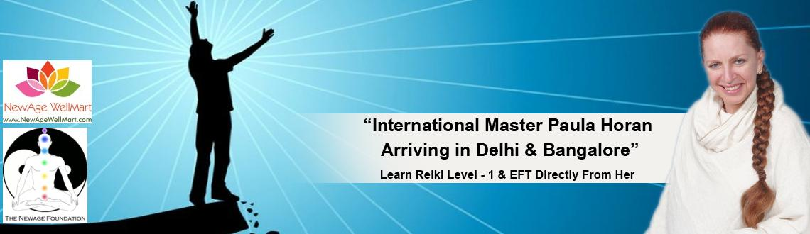 Book Online Tickets for Reiki Training By Dr Paula Horan- 1st De, Bengaluru. Reiki is a form of energy medicine. In essence, you become a channel for the Universal energy of Reiki to flow through and heal. Reiki's utter simplicity yet powerful results are the main reasons why many people are attracted towards this heali