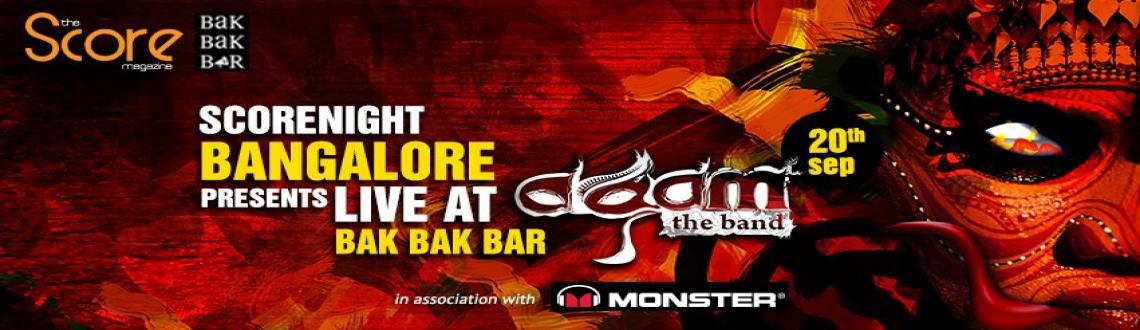 Agam on ScoreNight, Bangalore !