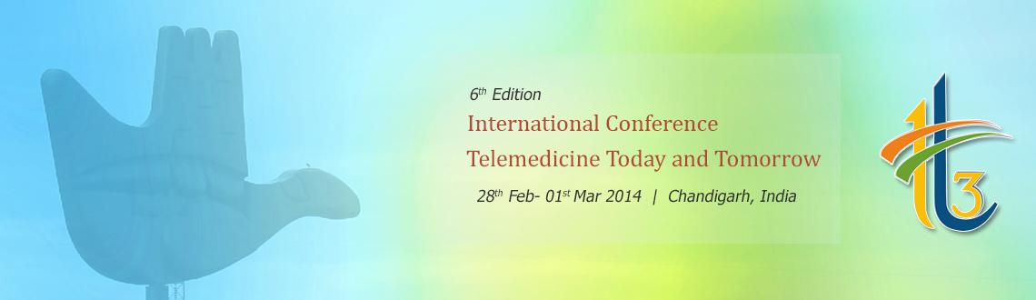 6th International Conference on Telemedicine Today and Tomorrow