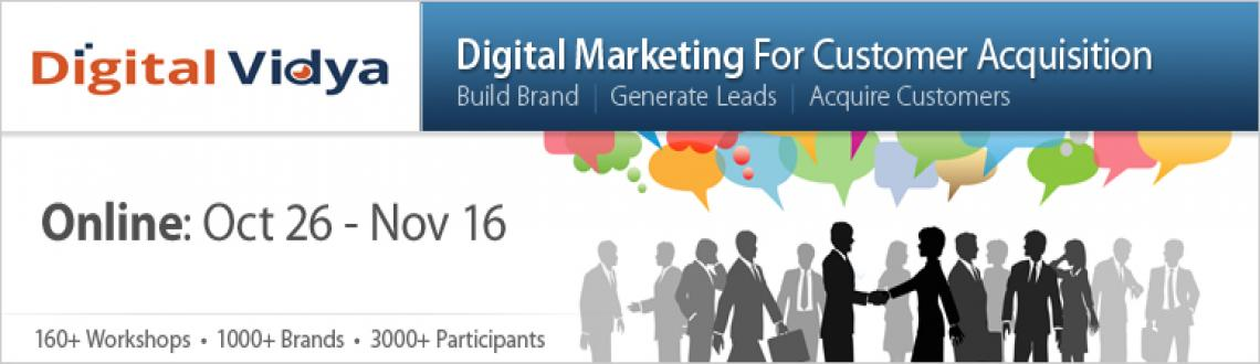 Book Online Tickets for Digital Marketing for Lead Generation & , NewDelhi. 