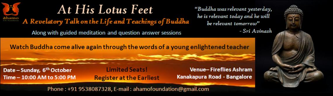 Book Online Tickets for At His Lotus Feet, Bengaluru. At His Lotus Feet