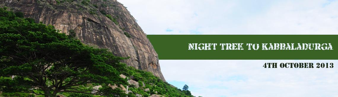 Book Online Tickets for Night Trek To Kabbaladurga - [4th Octobe, Bengaluru. About the Place: 
