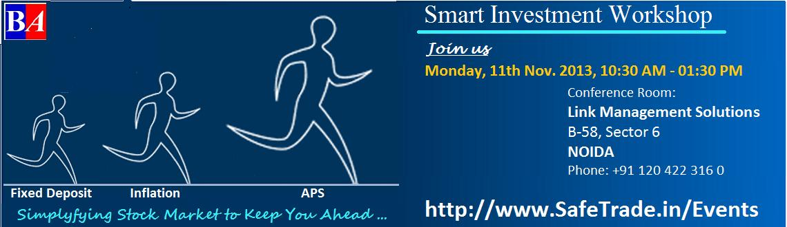 Smart Investment Workshop (Noida)