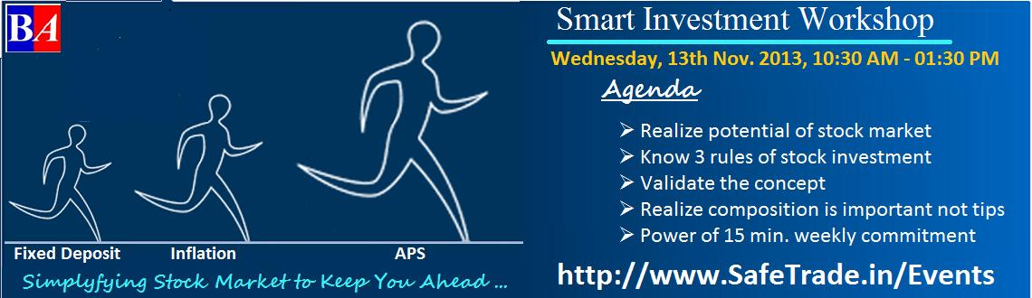 Smart Investment Workshop (Lucknow)