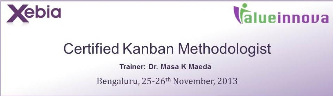 Book Online Tickets for Xebia-Valueinnova Certified Kanban Metho, Bengaluru.             Course Overview         Kanban is an amazing method to effectively bring continuous improvement to your organization. This is accomplished through a highly enjoyable way to visualize your process, disclosure of