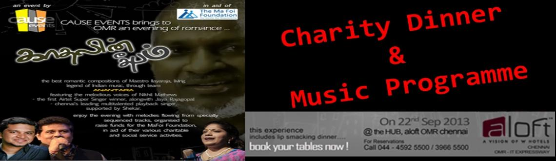 Book Online Tickets for Charity Dinner & Music Programme, Chennai. The Ma Foi Foundation works towards the holistic development of communities. It has touched the lives of thousands of adults and children, providing them with a platform to learn, grow and lead better lives. The initiative aims to help disadvantaged