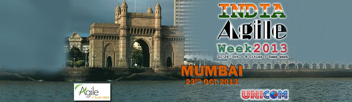 Book Online Tickets for India Agile Week 2013 @ Mumbai, Mumbai. \