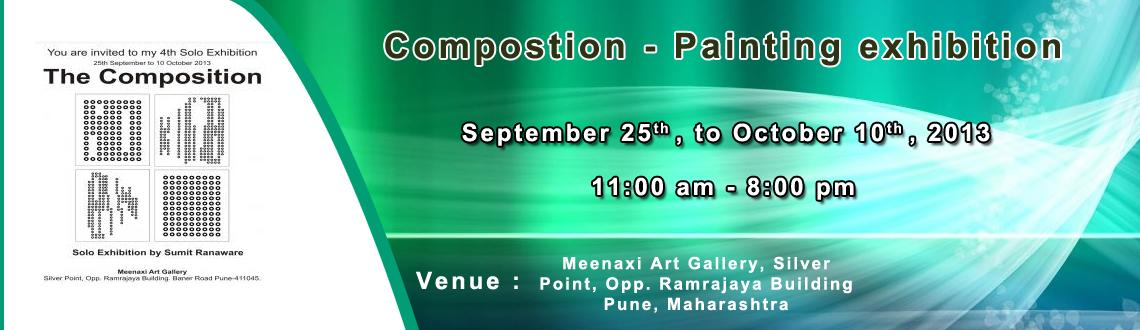 Book Online Tickets for Compostion - Painting exhibition, Pune. Description: The medium of these art works is Digital Media.These is based on the rule of painting called \