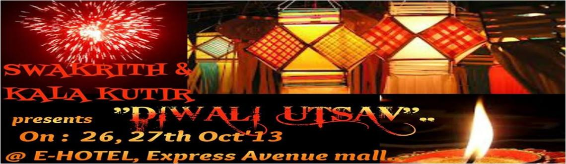 """Book Online Tickets for Diwali Utsav, Chennai. After the overwhelming response of """"Rajasthani mela"""",  Swakrith is back in collaboration with Kala kutir in organizing \"""