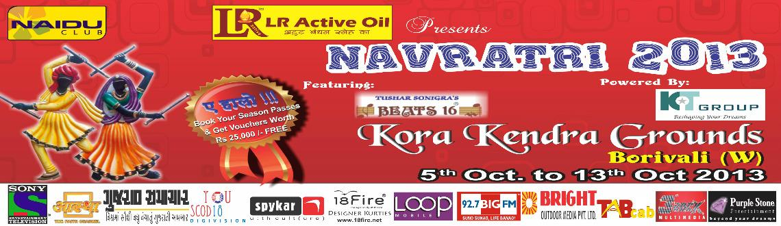 Book Online Tickets for Navratri 2013, Mumbai.  