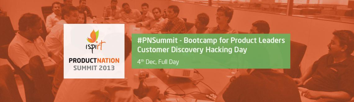 PNCamp 2013 - Customer Discovery Hacking BootCamp