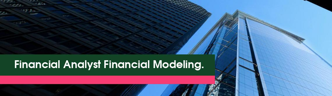 Financial Analyst  Financial Modeling.