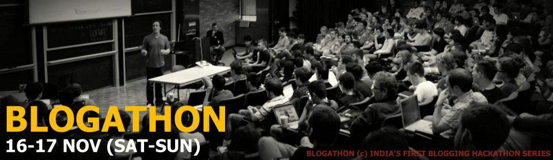 Book Online Tickets for Nexus Blogathon, Mumbai. ABOUT THE WORKSHOP