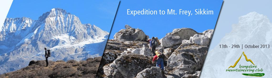 Expedition to Mt. Frey, Sikkim