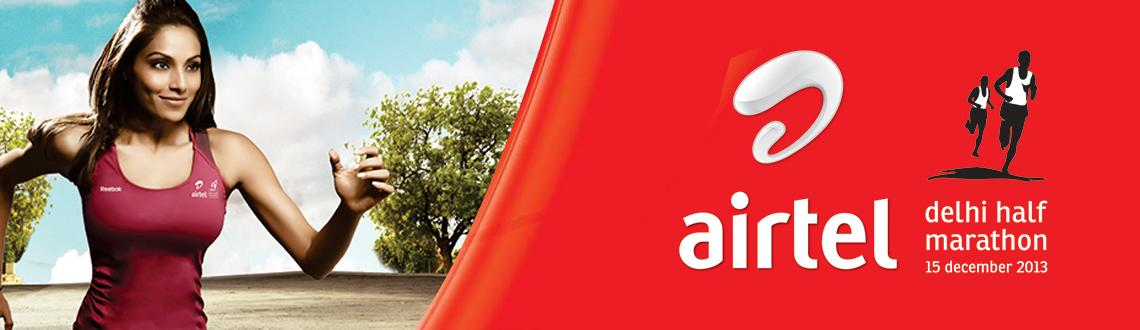 Book Online Tickets for AIRTEL DELHI HALF MARATHON, NewDelhi. The 2013 edition of Delhi\'s favorite race will take place on Dec 15th, a  much needed respite from heat of past years (the 2012 race was on Sep  30th). - Half Marathon (21.1 KM) - Great Delhi Run (6 KM)