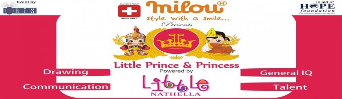 Book Online Tickets for Little Prince and Princess, Chennai. The month of October is calling for all little champs to gear up for a talent competition.