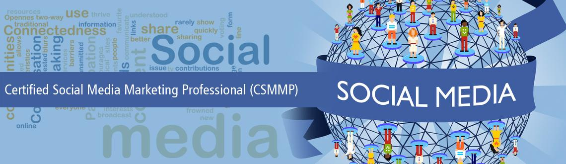 Certified Social Media Marketing Professional-April