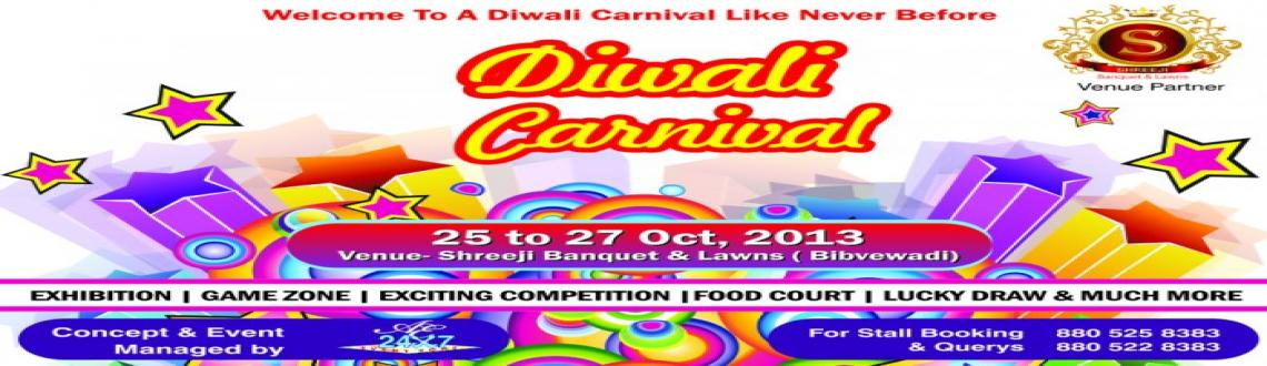 Book Online Tickets for Diwali Carnival, Pune. First time ever in pune....24X7 Event Zone is presenting an exciting, exhilarating \