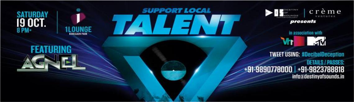 Support Local Talent ft. DJ Agnel & DJ T3RMINAL at 1 Lounge | Sat, 19th Oct 8 pm+