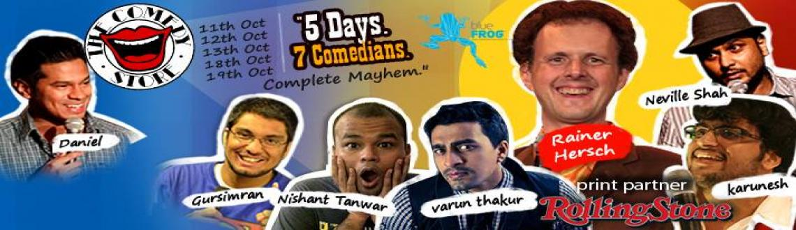 The Comedy Store presents Comedy To Go: Rainer Hersch, Daniel Fernandes & Varun Thakur - stand-up comedy acts