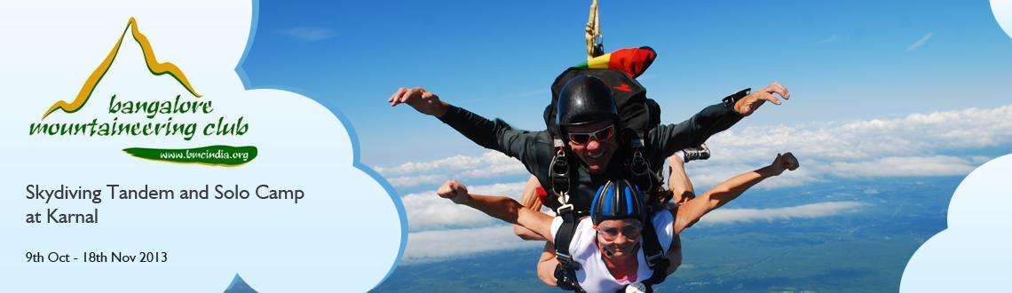 Skydiving Tandem and Solo Camp at Karnal