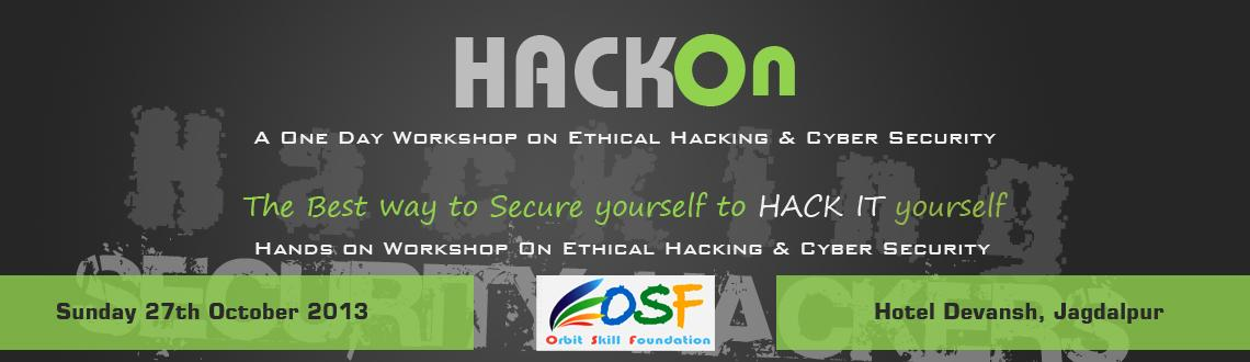 Hackon - Ethical Hacking & Cyber Security Workshop