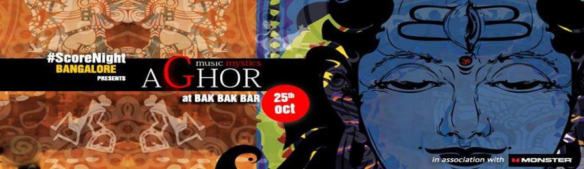 Book Online Tickets for Aghor on ScoreNight !, Bengaluru. Aghor, the innovative fusion band which incorporates a vast spectrum of musical colors are here playing for ScoreNight. They come with a blend of Jazz, Blues, Hindustani classical, Flamenco, Gypsy Jazz music and yet hold a sense of each genre\'s char
