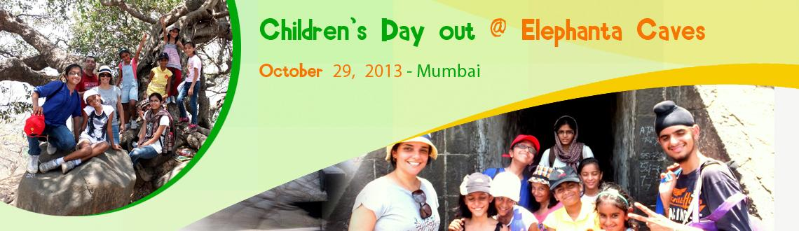 Children's Day out @ Elephanta Caves! 29th October