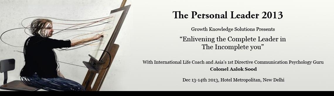 The Personal Leader 2013