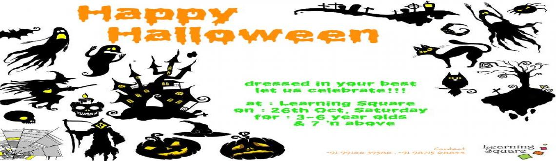 Book Online Tickets for Halloween Workshop by Learning Square, NewDelhi. At the LEARNING SQUARE our objective is to create a fun and stimulating experience for children and their mothers.