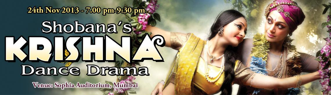 Shobana s Krishna - Sophia Auditorium - Mumbai