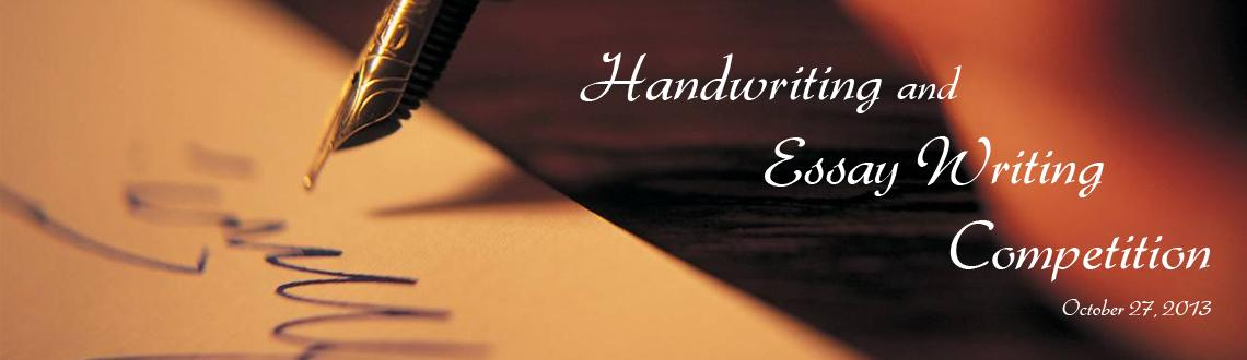 Handwriting and Essay Writing Competition