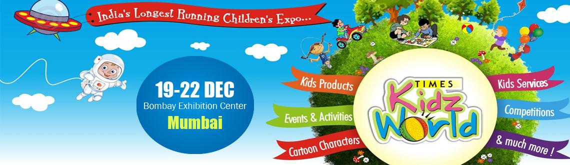 Book Online Tickets for Times kidz world Exhibition Free Exhibit, Mumbai. Times Kids World is India\\\'s longest running children oriented exhibition. The exhibition is a collection of some of the largest FMCG, Stationary, Media and Educational brands. Visitors find the event to be a one-stop shop for all their children\\\