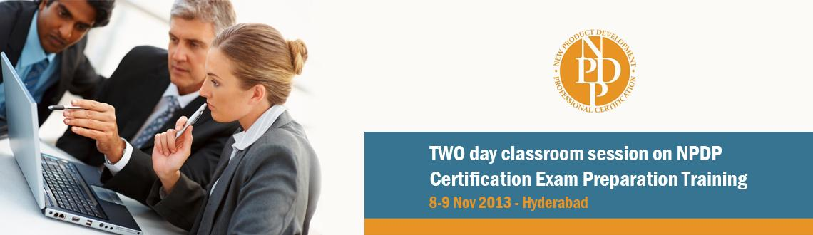 TWO day classroom session on NPDP Certification Exam Preparation Training